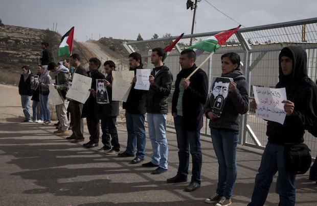 Protests spread in solidarity with Khader Adnan's hunger strike