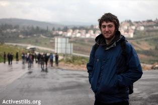 Alon Gurman in Nabi Saleh (Anne Paq / Activestills)