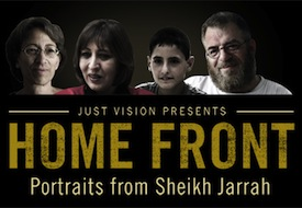 Home Front logo (Just Vision)