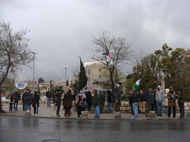 Friday protests in Sheikh Jarrah: Now a tiny vigil