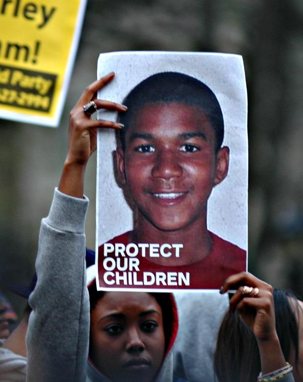 If Bernie Goldberg had a son, he'd look nothing like Trayvon Martin