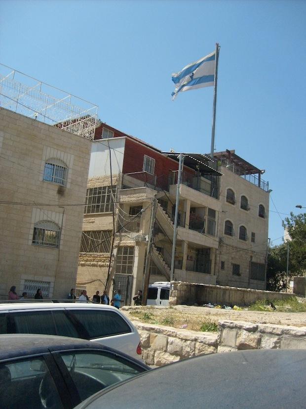 Hoshen settlement, Mount of Olives (Photo: Max Schindler)