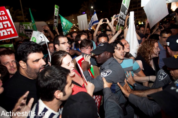 Thousands take part in May 12 protests, ten arrested