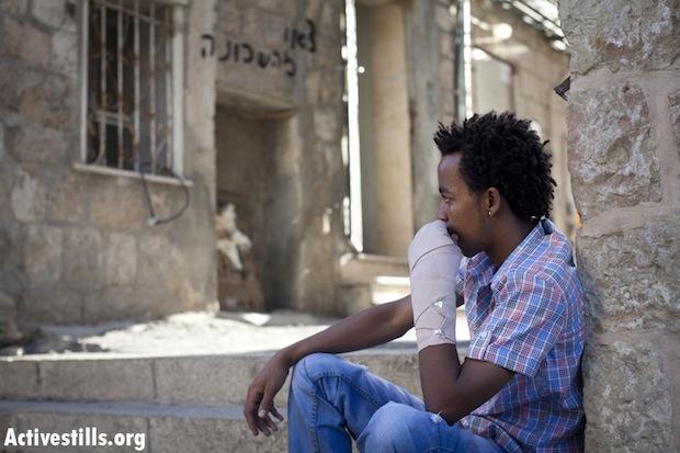 Eritrean apartment set on fire in Jerusalem; four injured