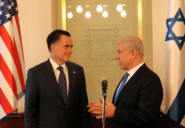Romney visit: Hitting the 'Palestinian punching bag' again