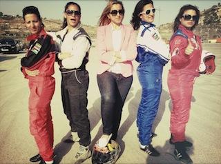 From left: Mouna, Noor, Maysoon, Marah, Betty
