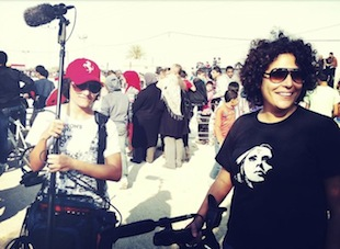 Director Amber Fares (R) and Assistant ProducerTina Ganim