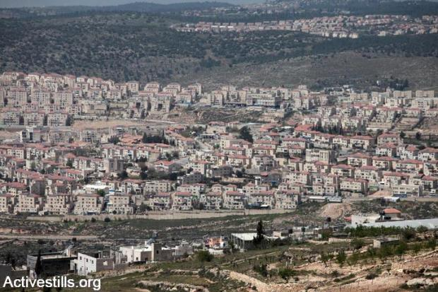 The Israeli settlement of Beitar Ilit. Yes, the left is trying to delegitimize settlements (photo: ActiveStills).