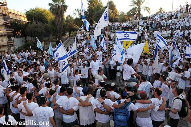 Israelis celebrate Jerusalem Day (Activestills)