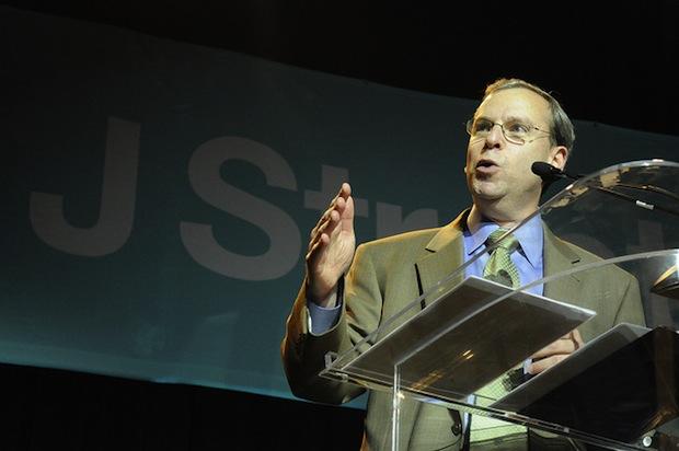 Jeremy Ben Ami speaks at a J Street conference. (Jstreet CC BY NC SA 2.0)