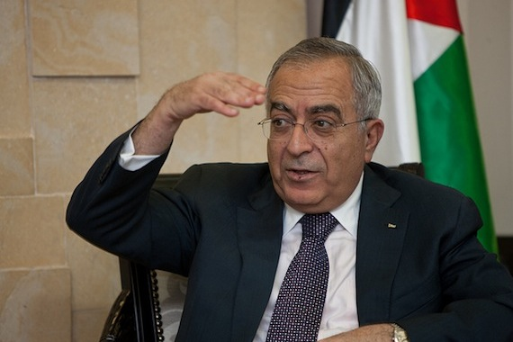 Who got rid of the prime minister of Palestine?