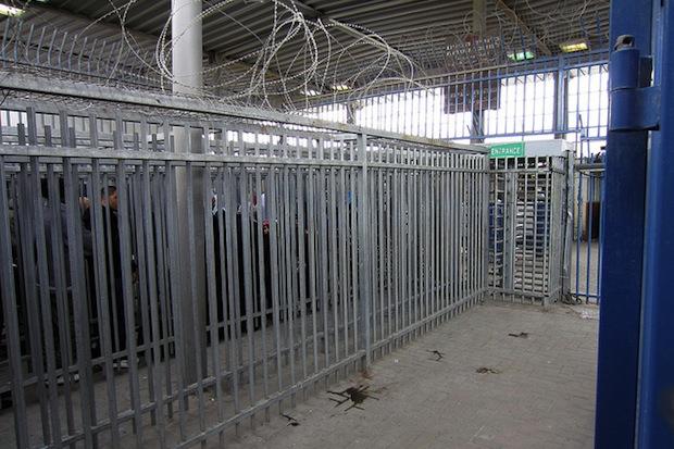 Qalandiya checkpoint (angrywhitekid/CC BY NC ND 2.0)