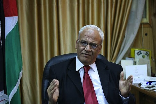 The man who sold the world: Dr. Erekat is back