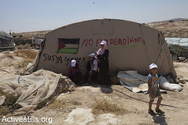 Susya, West Bank, Palestinian village under threat of destruction (Activestills)