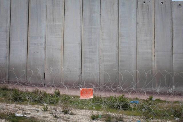 Here to stay. The wall around Jerusalem (Oren Ziv / Activestills)