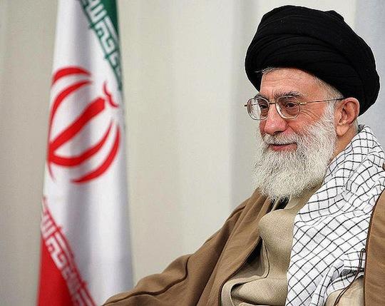 Iran's Ayatollah Khamenei. (CC BY AslanMedia)