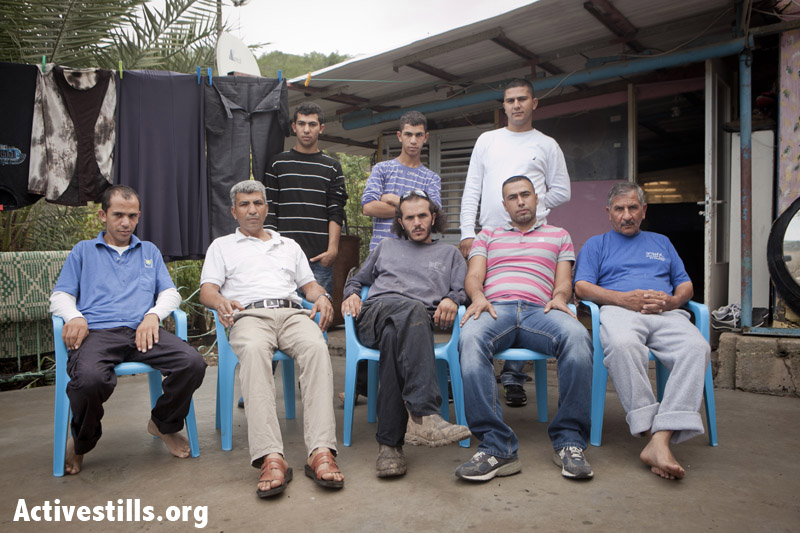 Photo essay: Galilee Bedouin face house demolitions