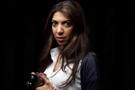 Bahraini journalist Nazeeha Saeed (Photo: NZ/facebook)