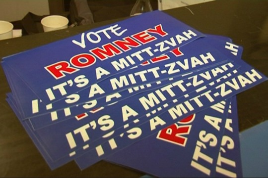 WATCH: Israeli Democrats canvass American voters for Romney