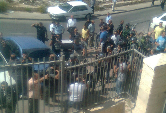 Israeli police shut down, attempt to raid Palestinian school in East Jerusalem
