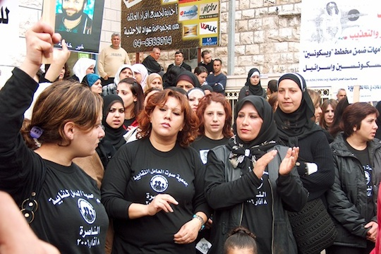 From factories to farms, labor union champions rights of Palestiniansin Israel