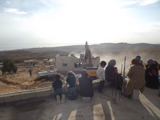Israel demolishes two Palestinian homes in Area C