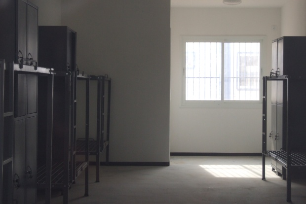 A room in Sadot prison (photo: Noam Sheizaf)