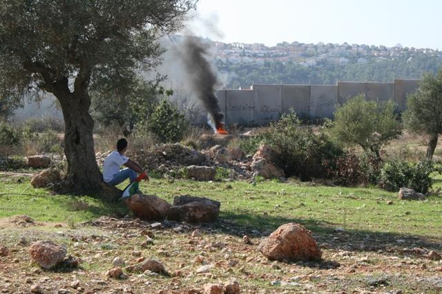 Bil'in, the day after Palestine's UN bid passed (Haggai Matar)