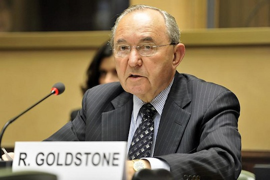 The real winner of Hamas-Israel ceasefire: Justice Richard Goldstone
