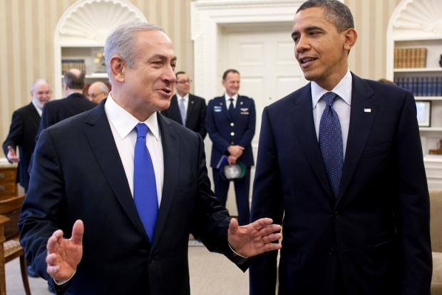 President Obama and Prime Minister Netanyahu in the White House (photo: Pete Souza / White House)