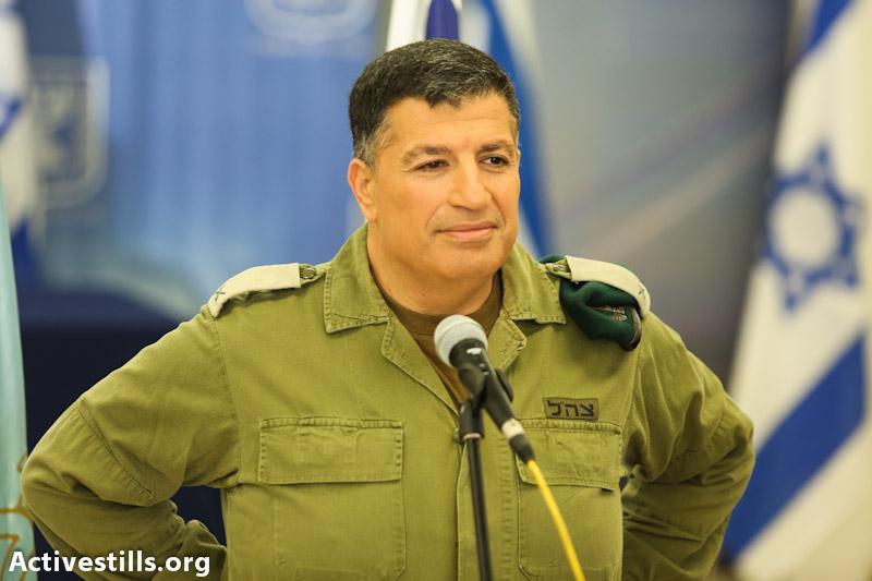 Coordinator of Government Activities in the Territories Yoav Mordechai (photo: Yotam Ronen / Activestills.org)