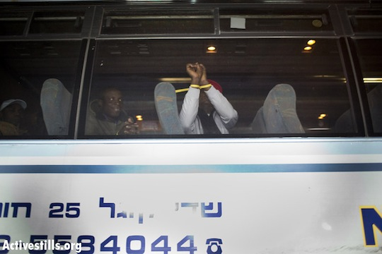 Asylum seekers arrested in Tel Aviv raid after authorities announce holiday reprieve