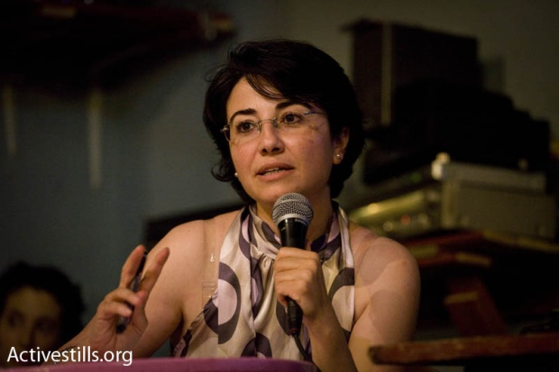 MK Haneen Zoabi (photo: Oren Ziv/ Activestills.org)