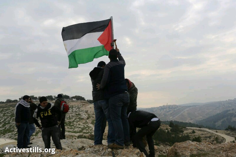 Palestinians build 'settlement' near Jerusalem, receive eviction orders from Border Police