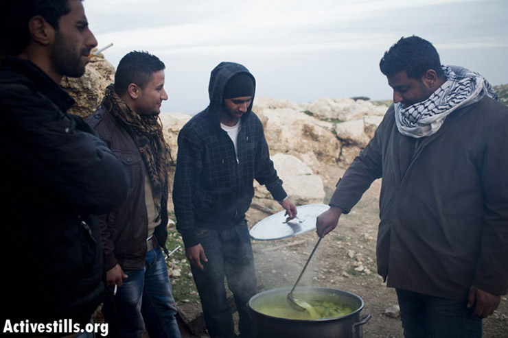 PHOTOS: 48 hours in the West Bank protest village of Bab Al-Shams