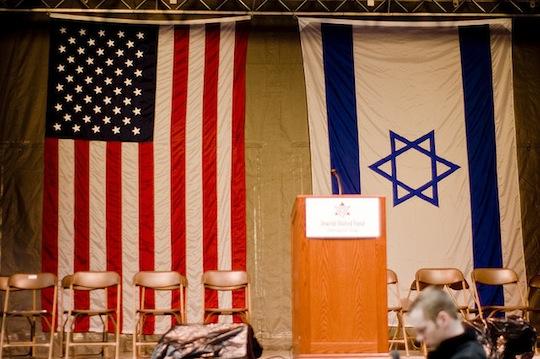U.S. and Israeli flags (flickr/Josh.ev9/CC by SA 2.0)