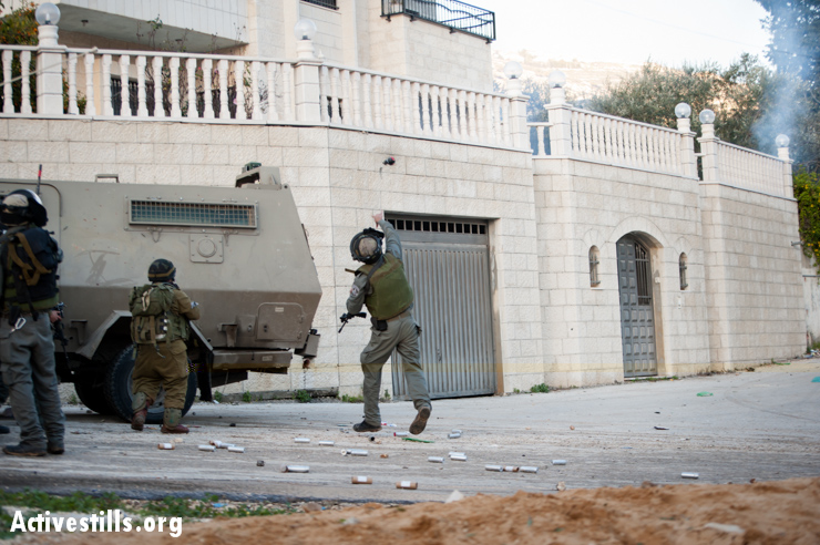 Photos: Israeli forces attack Palestinian protest village