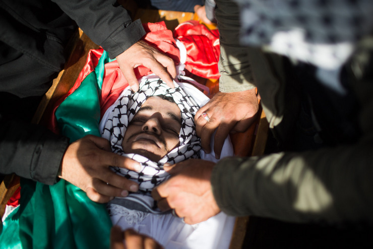 PHOTOS: Clashes erupt in West Bank after funeral for Palestinian prisoner