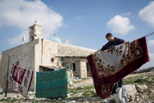 Dispite a unique rulling by the High Court in 1951 villagers are still not allowed to return (Oren Ziv / Activestills)