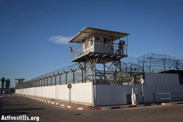 Ayalon prison facility, near the city of Ramla (photo: Activestills)