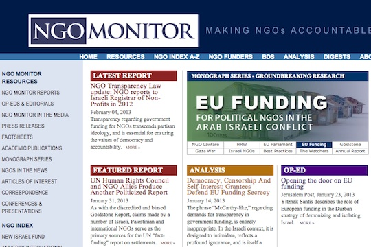 The pathetic negligence of NGO Monitor and truth from Argentina: Two comments
