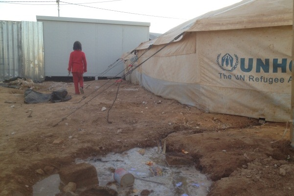 Syrian refugee camp (photo: Roee Ruttenberg)