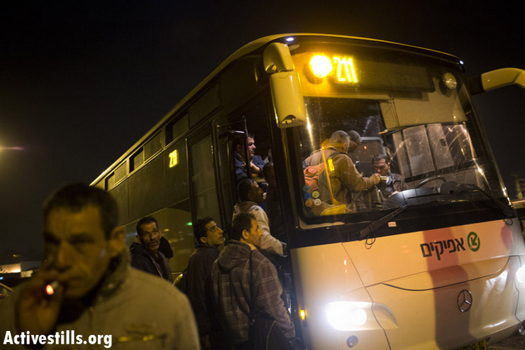 Palestinian-only buses serve to incentivize segregation