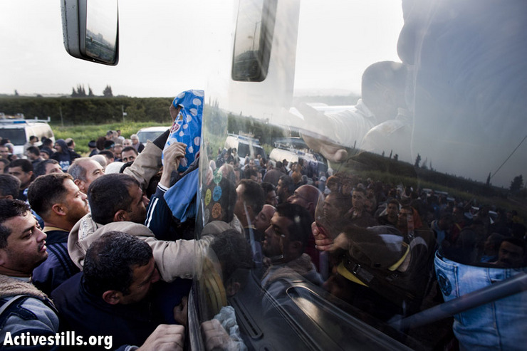 Photos: Israel's new 'Palestinian only' segregated bus lines