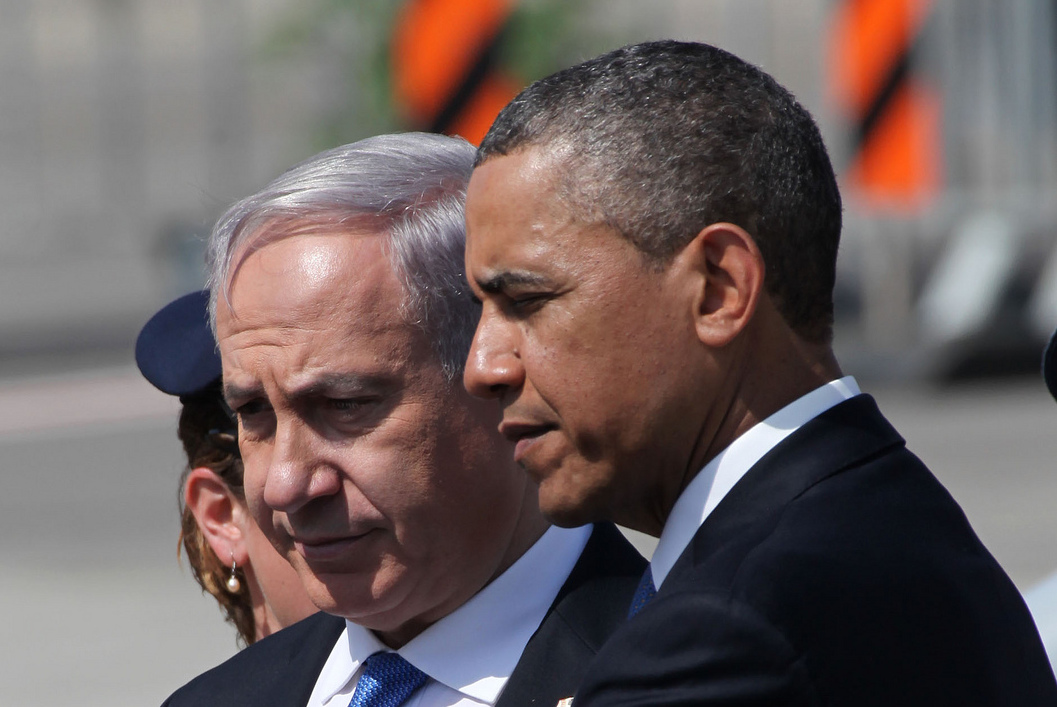 Netanyahu and Obama (flickr / Mark Israel, The Israel Project)