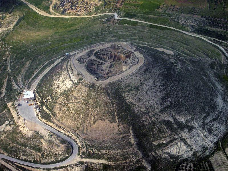 Herodium, West Bank (photo: Wikicommons)