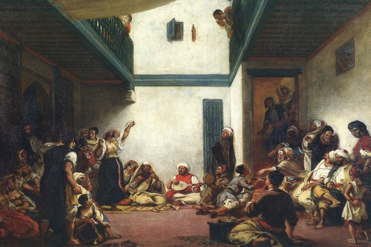 A Jewish Wedding in Morocco, by Eugene Delacroix (1841)