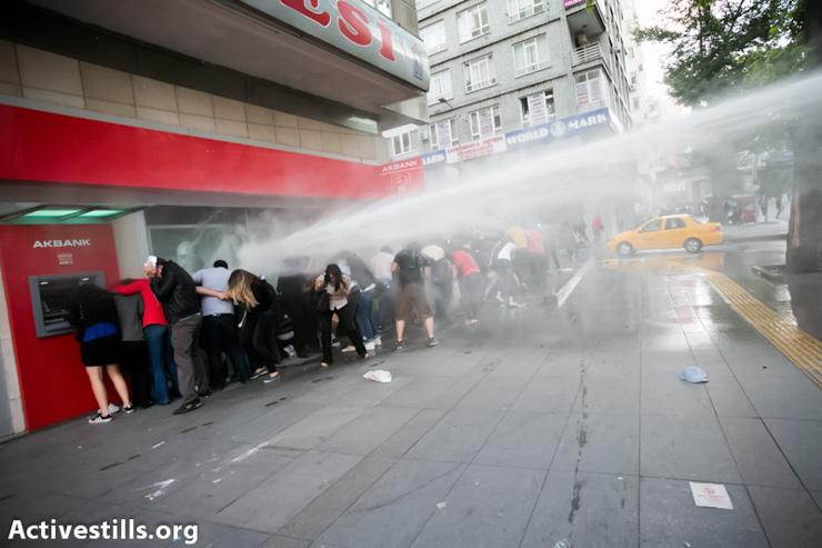 PHOTOS: Ankara protests grow as Istanbul clashes subside