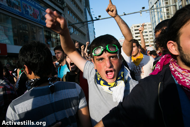 PHOTOS: Anti-government protests swell in Turkey's capital