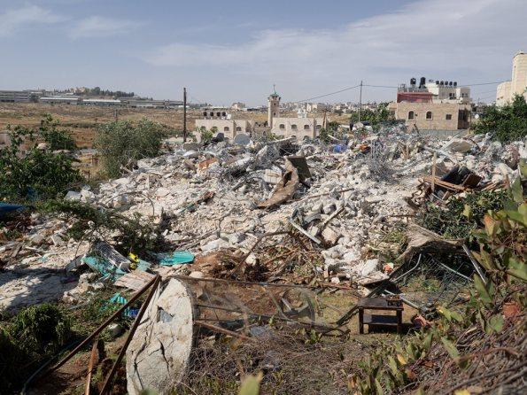 House demolitions: Zionism's constant background noise